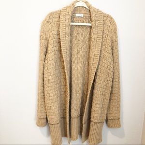 FIRTH Wool Alpaca Blend Long Cardigan
